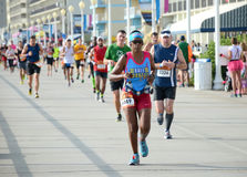 Rr-maraton Arkivfoto