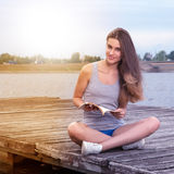 Rread the book. stock images