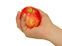 Rred Apple διαθέσιμη Στοκ φωτογραφία με δικαίωμα ελεύθερης χρήσης