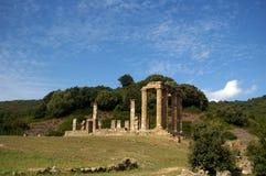 RRoman temple of Antas, Sardinia.. Royalty Free Stock Photo