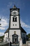 Røros  church Royalty Free Stock Photos