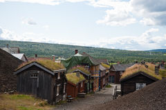 R�ros, Norway Royalty Free Stock Photography