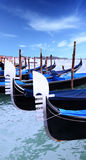 Rrostrums of gondolas Stock Images