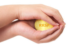 RRSP concept Royalty Free Stock Images