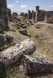 Rruins en Pamukalle, Turquía Fotografía de archivo libre de regalías