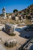 Rruins from Ephesus, Turkey Royalty Free Stock Photography