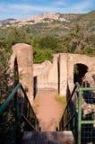 Rruins and stairs at Villa Adriana Tivoli Royalty Free Stock Image