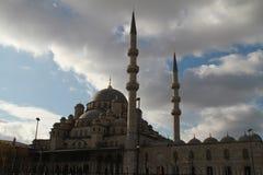 Rrustempasa清真寺在伊斯坦布尔,土耳其 免版税图库摄影