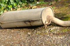 Rrusty avgasrör från en bil Royaltyfria Foton