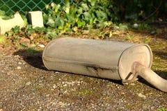 Rrusty avgasrör från en bil Royaltyfri Foto
