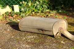 Rrusty exhaust from a car Royalty Free Stock Photo