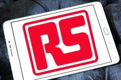 RS组分公司商标 库存图片