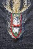 Rs 142 спасательной лодки, рогулька рожочка Стоковая Фотография