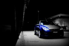 RS in the dark Stock Image
