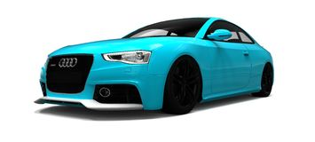 Rs 5 de Audi Fotos de Stock