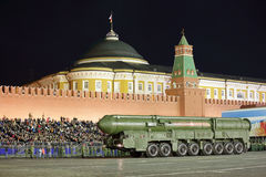 The RS-24 RT-24 Yars or Topol-MR SS-27 Mod 2 Stock Photography