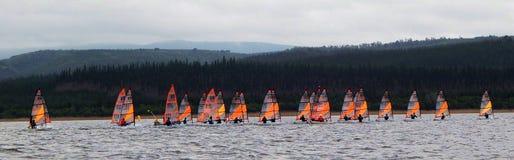 RS Tera World Sailing Championships 2015 royalty-vrije stock foto's