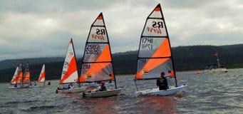 RS Tera World Sailing Championships 2015 stock foto's