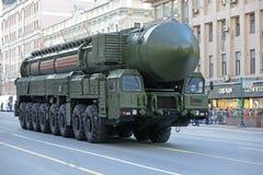 RS-24 Yars洲际弹道导弹 免版税库存图片