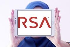 RSA证券公司商标 库存照片