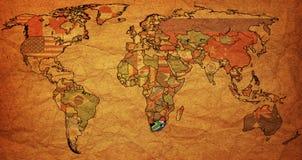 rsa on map of world