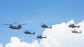 RSAF Airshow con los diversos aviones fotos de archivo libres de regalías