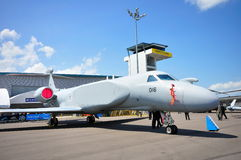 rsaf för militär för gulfstream för aew-flygplan g550 Arkivbild
