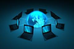 réseau de concept Image libre de droits