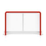 Réseau de hockey sur glace Images stock