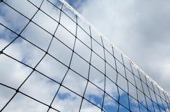 Réseau de volleyball Images stock