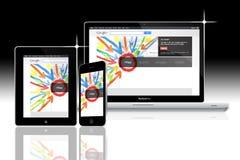 Réseau social Google plus Photo stock