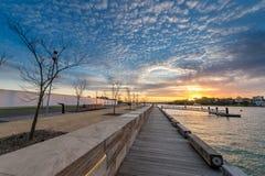 Réservation de Barangaroo à Sydney Images libres de droits