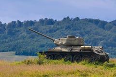 Réservoir de la guerre mondiale 2 Image libre de droits