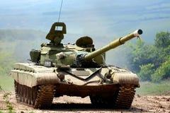 Réservoir militaire Photo stock