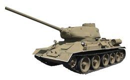 Réservoir T-34 Photographie stock libre de droits