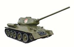 Réservoir T-34 Image stock