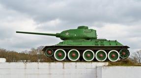 Réservoir T-34 Photos stock