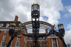 RSPCA Monument, Richmond-Upon-Thames. Ornate Victorian structure celebrating the Royal Society for the Prevention of Cruelty to Animals at Star and Garter Hill Royalty Free Stock Photos