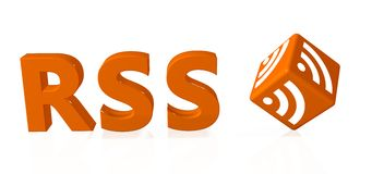 Rss Royalty Free Stock Photos