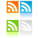 RSS Button Stock Images