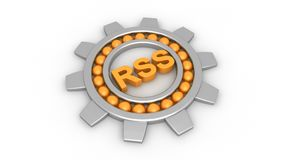 RSS Concept Royalty Free Stock Images