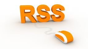 RSS Concept Stock Images
