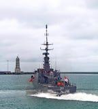 RSS Dauntless patrol vessel Stock Photography