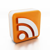 Rss or Feed icon Royalty Free Stock Images