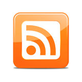 Rss feed sign Stock Images