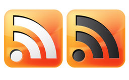 Rss icon stock illustration