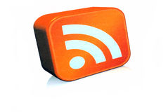 RSS icon Royalty Free Stock Image