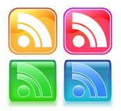 Rss icon Stock Images