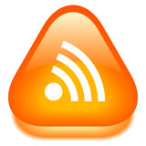 Rss icon Royalty Free Stock Images