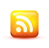 RSS icon illustration Royalty Free Stock Image